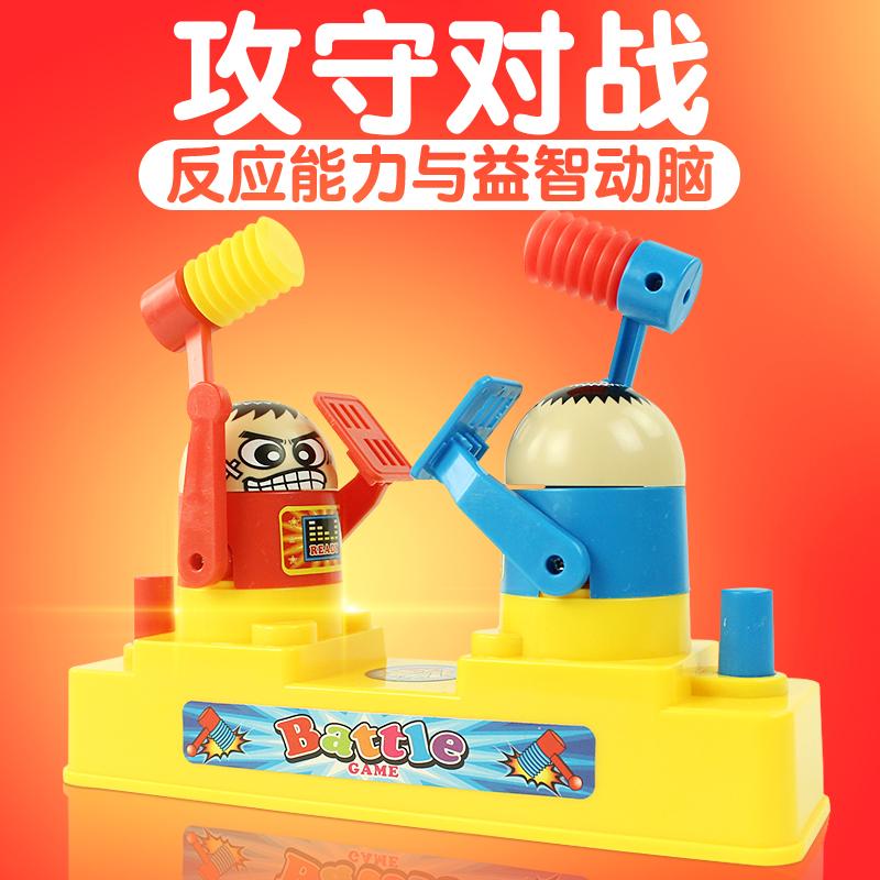 Ребенок двойной интерес атака охрана битва мальчик рабочий стол головоломка для борьба отцовство стол тур интерактивный комнатный игра игрушка