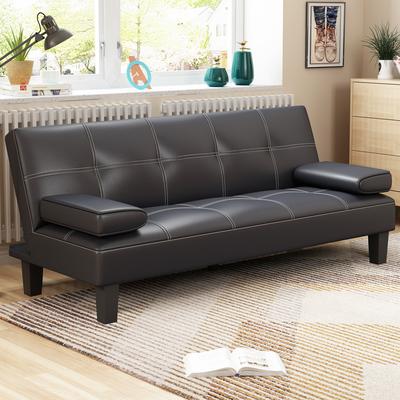 小户型客厅沙发床两用可折叠省空间简易经济型多功能双人懒人沙发