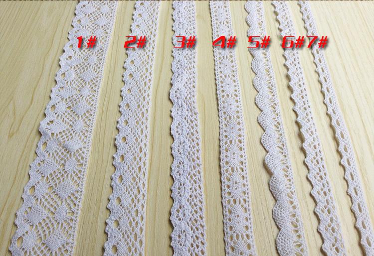 Чистый хлопок край установите хлопок кружево DIY ручной работы аксессуары утонченность дикий одежда ткань постельные принадлежности монтаж