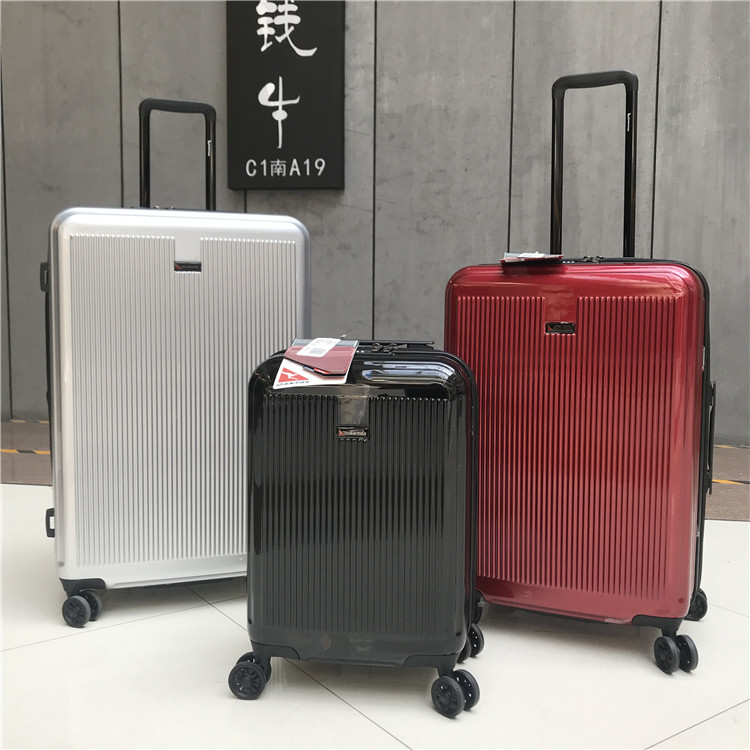 Export to Japan super light mute 20 inch password board case Trolley Case Travel Case Cardan wheel 28 consignment case