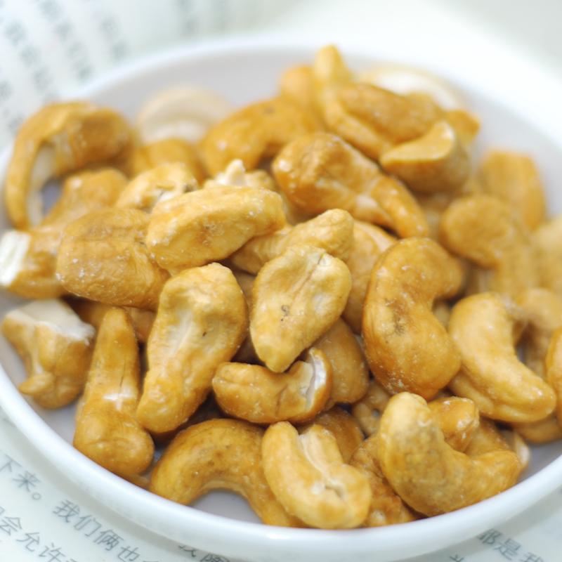 17年新货上市越南进口腰果炭烧250gx2罐坚果炒货零食特产包邮