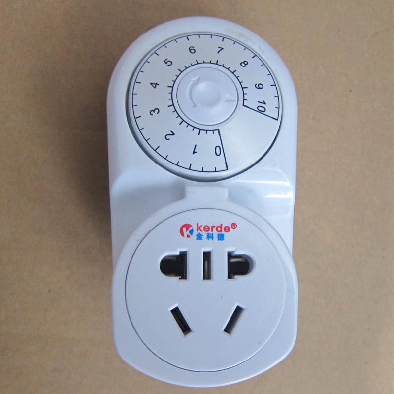 金科德定时器开关插座 倒计时 旋转  科德 机械式 电子充电保护器