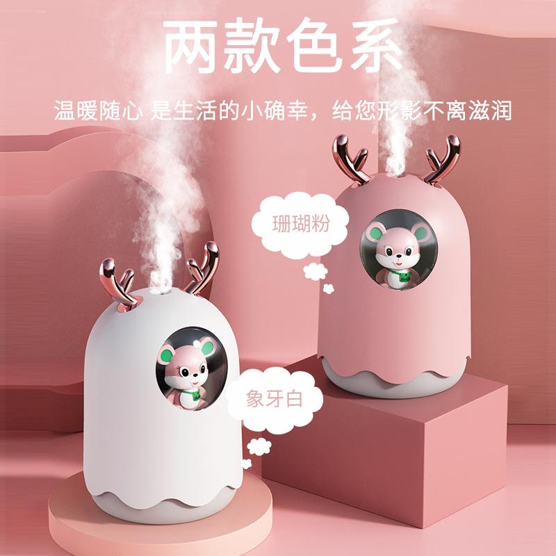 香之源香薰机精油专用加湿器小型车载家用卧室便携式静音大喷雾器