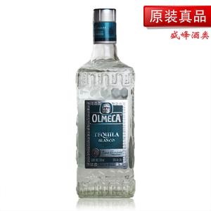 【洋酒】墨西哥奥美加银龙舌兰酒 OLMECA TEQUILA 750毫升