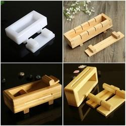 寿司日本料理用千层寿司模具工具平压饼压饭模竹制/木制寿司压箱