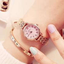 金米欧简约时尚小巧细带手表女链条女表学生腕表防水石英手表正品