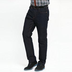 羽昂男装冬季男士商务休闲牛仔可脱卸羽绒裤修身款外穿加厚