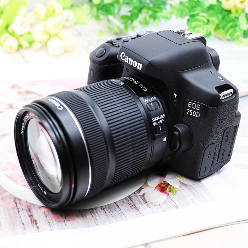 原装正品Canon/佳能750D套机18-55入门级EOS数码高清旅游单反相机