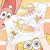 海绵宝宝派大星涂鸦小众百搭帆布鞋质量如何