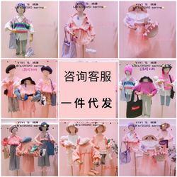 广州档口杭州精品童装货源号淘宝店进货拿货微商一件代发招加盟