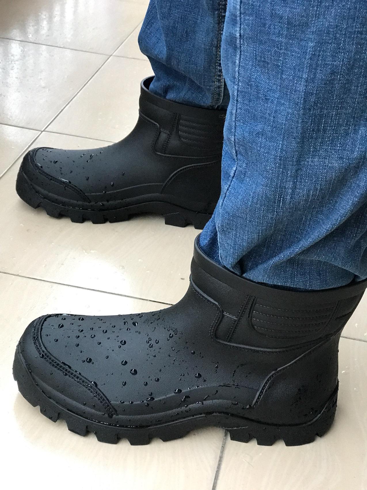 包邮欧版台湾环保材料耐油酸碱男低帮雨鞋雨靴出口防水防滑厨师鞋