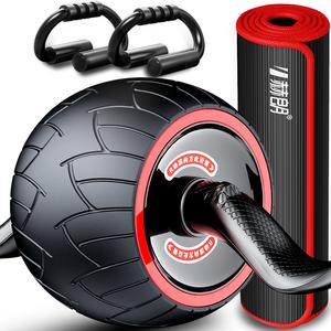 自动回弹健腹轮腹肌速成神器滚轮男女瘦运动卷腹滑轮家用健身器材