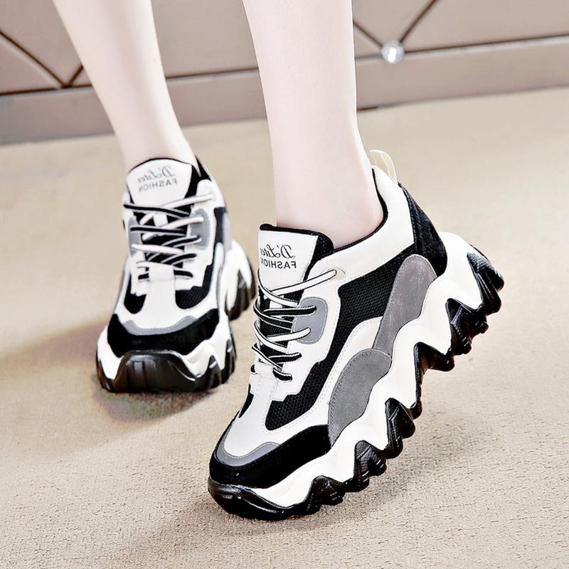 今年流行的老爹鞋女装炸街显小脚2020年新款2021女鞋潮人春季波鞋