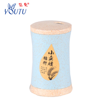 Wheat eco-friendly toothpick box fashion Nordic Toothpick simple toothpick bottle household Toothpick bucket contains 420 toothpicks