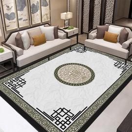中国风格入户复古风禅意福字茶茶几垫新中式地毯客厅现代书房地垫