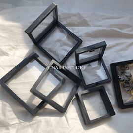Chaifu studio /W03 PE透明薄膜项链戒指手链收纳防尘首饰包装盒