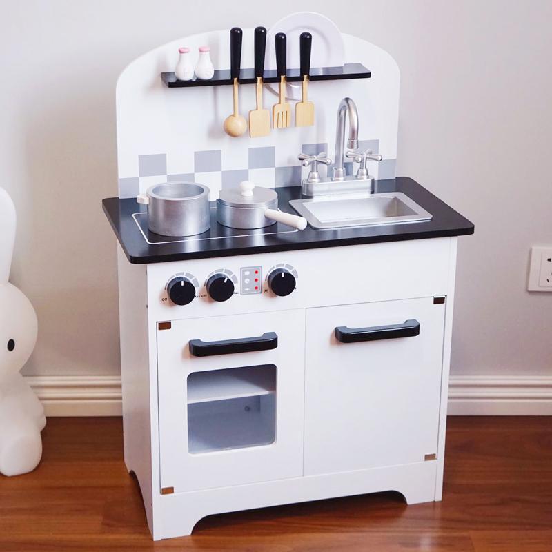 套装仿真厨具木质3-6周岁厨房玩具限10000张券