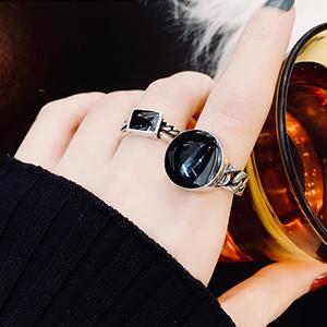 韩版个性套装组合女网红开口戒指