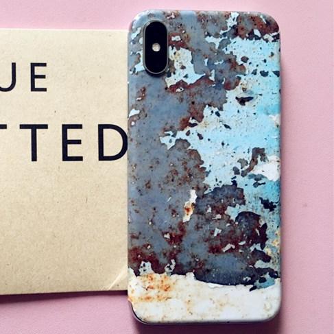 SkinAT苹果X手机贴膜iphone6s/7/8plus创意贴纸炫彩背贴保护装饰