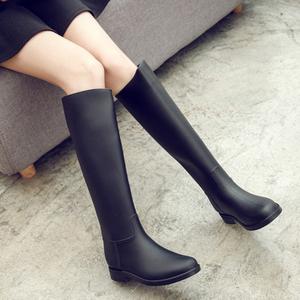 外穿雨鞋女高筒春夏时尚雨靴女成人长筒水鞋女士防滑胶鞋马丁水靴