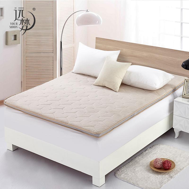 远梦床垫臻质羊毛床垫冬季加厚保暖床垫单双人床垫保护垫亲肤透气,可领取20元天猫优惠券