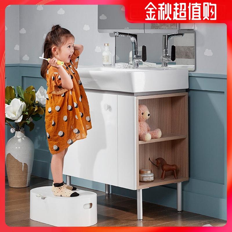 3183.00元包邮科勒浴室柜亲悦浴室柜现代简约小户型卫生间卫浴柜组合K-22818T