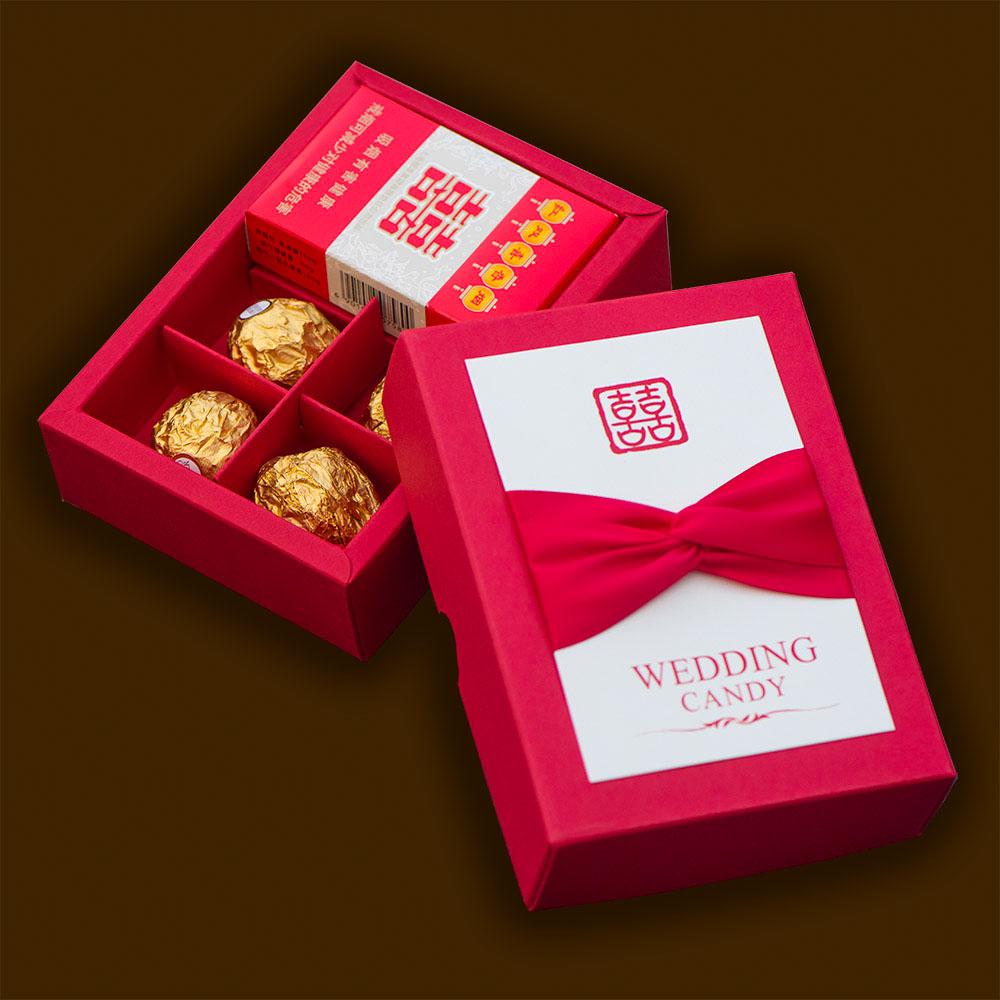 结婚婚庆喜糖盒子创意喜烟盒喜糖盒限1000张券