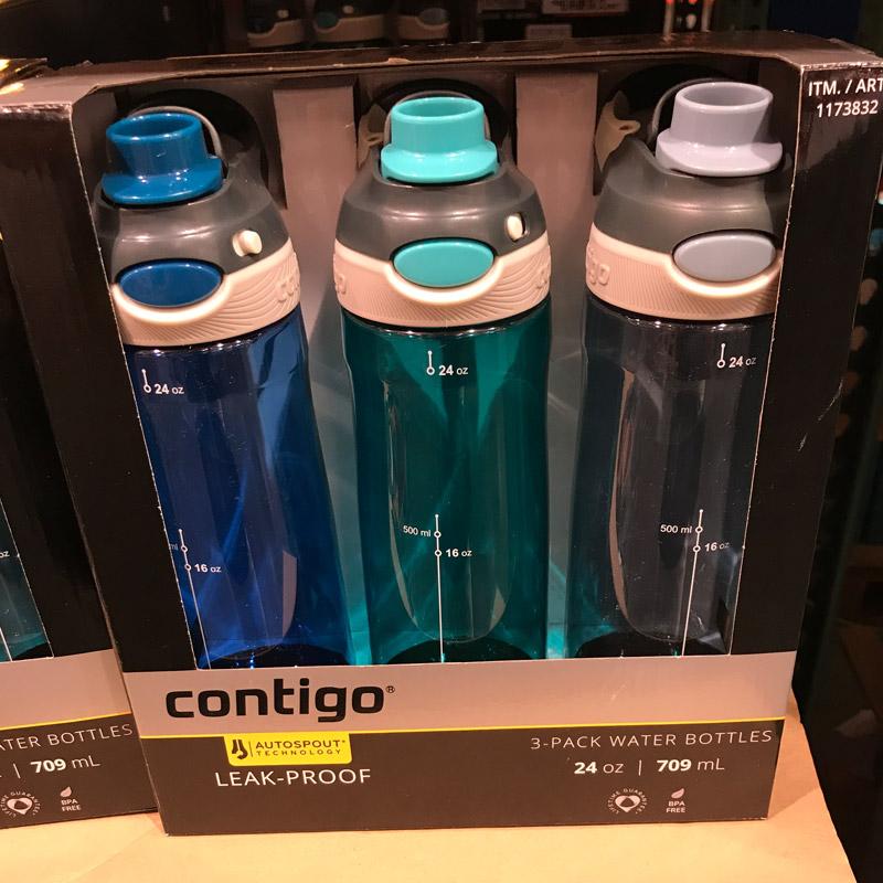 台湾采购contigo康迪克运动水杯随手杯709ml直饮杯成人水壶吸管杯