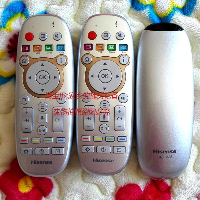 海信电视遥控器CRF6A36曲电视LED65XT800X3DU原厂原装正版