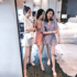 Women's 2020 Summer and Autumn New Lace Hollow One-piece Shorts Korean Style Temperament Fashion High Waist Thin One-piece Trendy