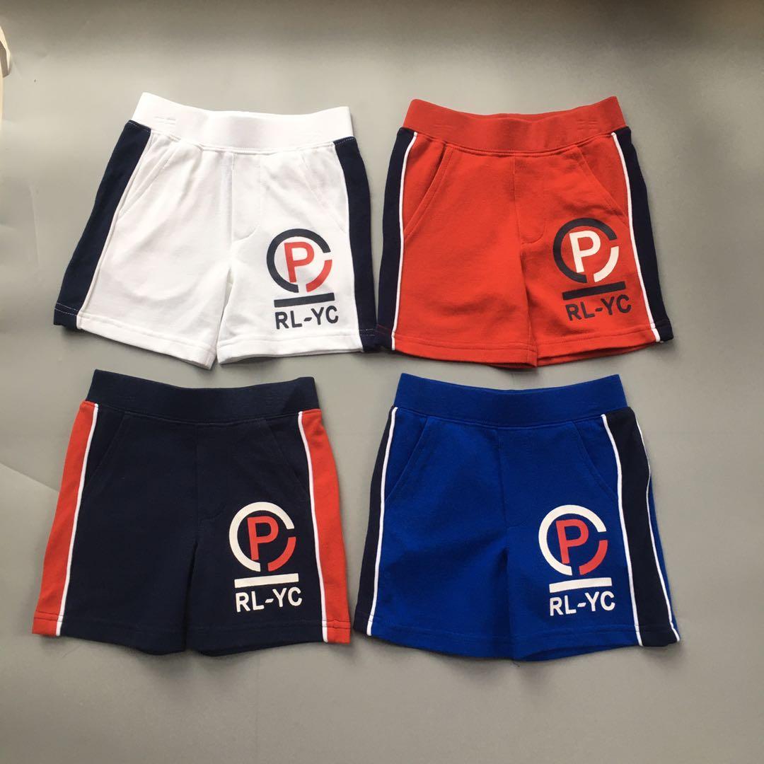 rl家男童夏季松紧腰短裤运动运动裤