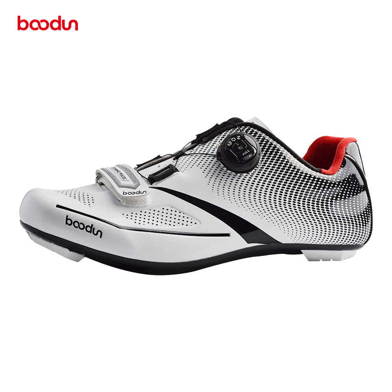 Boodun road bike cycling shoes lightweight breathable outdoor sports professional sports cycling lock pedal lock shoes