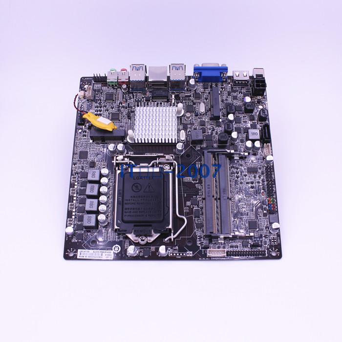 新品 杰微H110-itx迷你主板12V/MSATA/WIFI/LVDS点屏 一体机主板