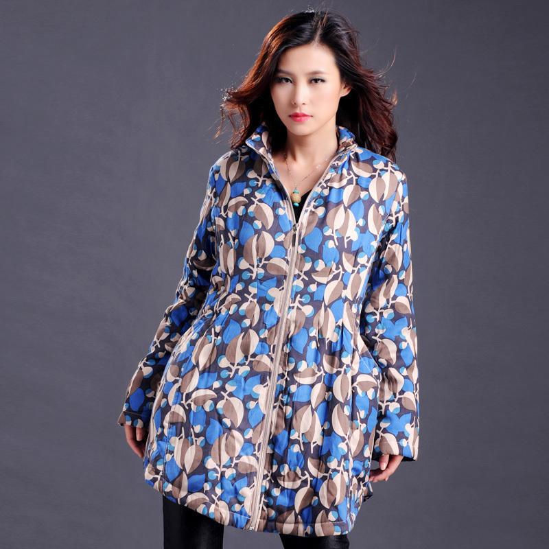 欧美宽松大码女装棉服特价清货高端品质中年妈妈装中老年女装促销