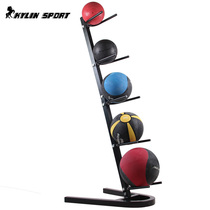 10 Ball loaded ball rack two-sided gravity ball frame solid ball basketball removable ball rack fitness Private Classroom
