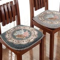 欧式雪尼尔实木加厚四季防滑餐椅垫怎么样