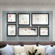 Love living room photo wall photo frame wall simple Chinese combination photo frame decoration painting hanging painting mural picture frame painting
