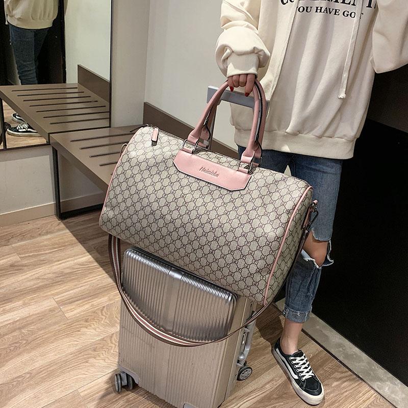 Travel bag womens short distance portable travel large capacity fashion luggage