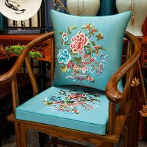 红木沙发坐垫家用新中式椅子垫子加厚防滑椅垫餐椅实木太师椅坐垫