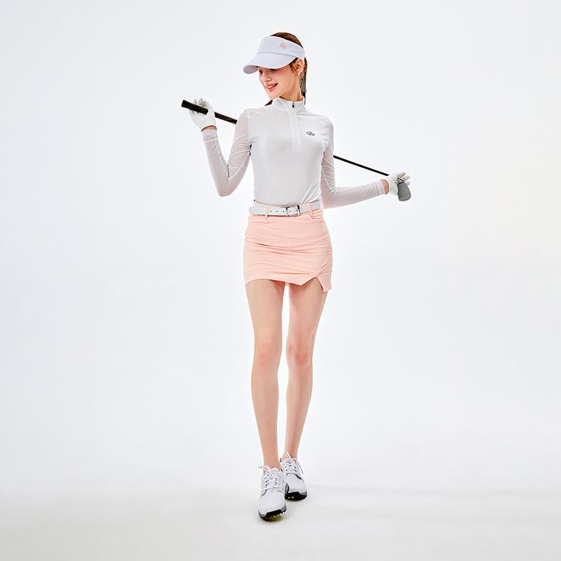 Golf womens skirt Korean fashion slim skirt double layer anti light sportswear quick drying breathable shorts