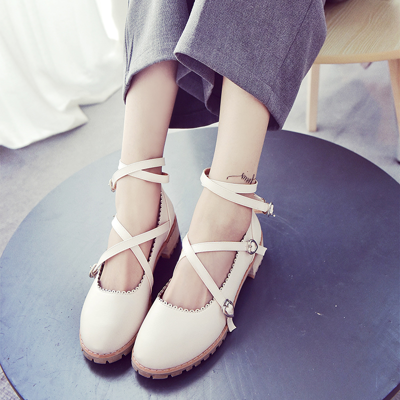 Программное обеспечение, необходимое! Сладкий Студенческая весна 2016 Лолита Япония и Южная Корея мило обувь плоской Повседневная обувь