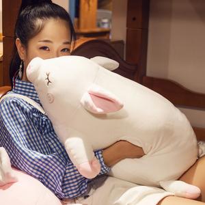 可爱猪猪暖手抱枕毛绒公仔玩偶女生玩具睡觉抱娃娃插手学生床上