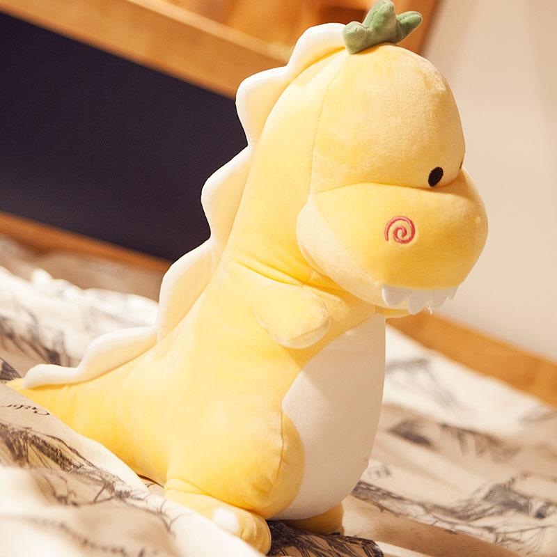 可爱恐龙毛绒玩具陪睡布娃娃睡觉抱枕儿童小恐龙公仔超萌玩偶女生