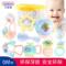 贝恩施手摇铃婴儿玩具 0-1岁新生幼儿宝宝益智牙胶玩具3-6-12个月