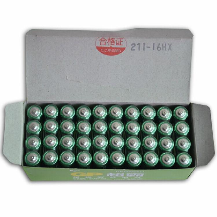 gp超霸電池5號電池40顆無汞環保碳性五號AA兒童玩具 多省包郵