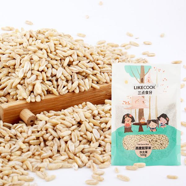 艾谷 三点食分 燕麦胚芽米 1KG 煮粥米辅食