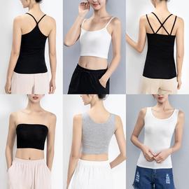 吊带背心女外穿夏季短款薄百搭打底显瘦黑白色上衣吊带衫内搭性感