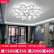 全铜轻奢吸顶灯客厅吊灯后现代简约创意卧室三室两厅北欧灯具套餐
