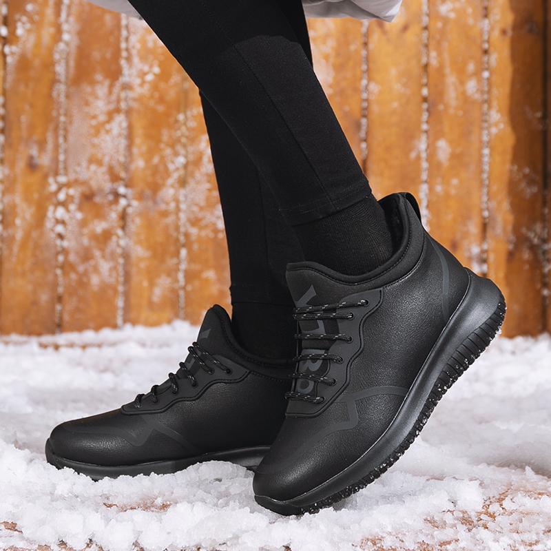 谊嘉宝新款户外运动休闲女士雪地靴超迁舒适轻便保暖加绒棉鞋