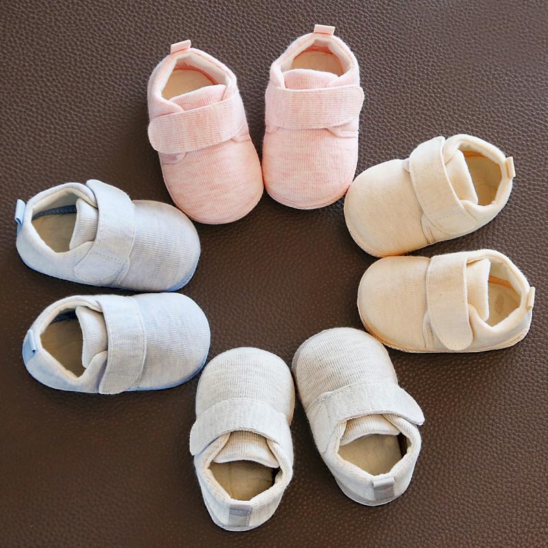 软底春秋学步鞋布鞋0一7婴儿鞋子